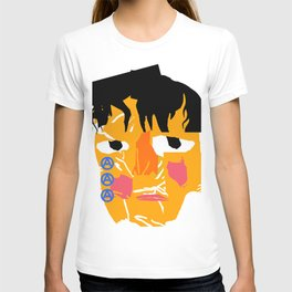 Abstract crying man T-shirt