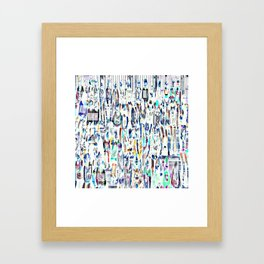 Visit Framed Art Print