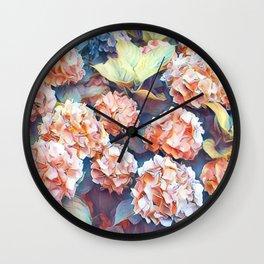 Aquarell floral 04 Wall Clock
