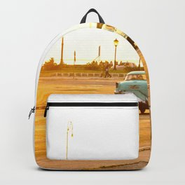 Cuban sunset Backpack