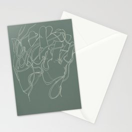 Layers of lost ends Stationery Cards