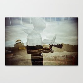 Wishing to fly Canvas Print