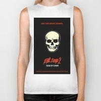 evil dead Biker Tanks featuring Evil Dead 2 - Dead by Dawn by Dukesman