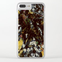 Epidote Clear iPhone Case