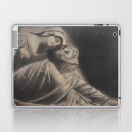 Statue - in Charcoal Laptop & iPad Skin
