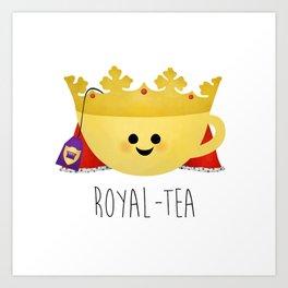 Royal-tea Art Print
