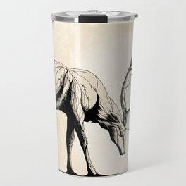 Knowing the Deer Tree Travel Mug