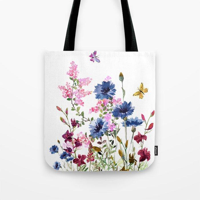 Wildflowers IV Umhängetasche