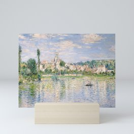 Vetheuil in Summer 1880 by Claude Monet Mini Art Print