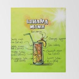 Bahama_Mama_002_by_JAMFoto Throw Blanket