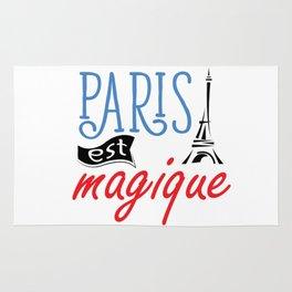 Paris Est Magique. Rug