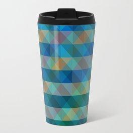 Background Overlap Travel Mug