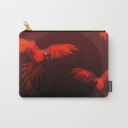 Papagei sunset Carry-All Pouch