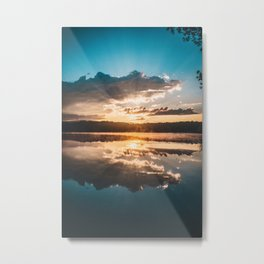 shadow of the day Metal Print