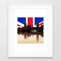 politics Framed Art Prints featuring British politics by Shalisa Photography