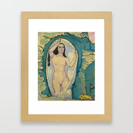Koloman Moser - Venus in the Grotto Framed Art Print