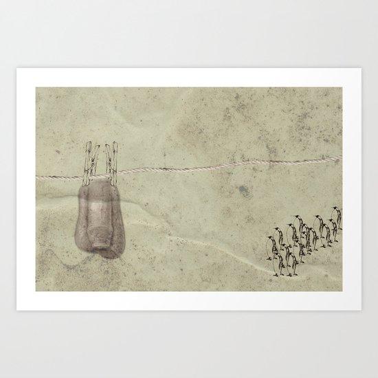 Pen Art Print