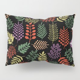 Colorful branches 2 Pillow Sham