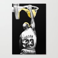 mike wrobel Canvas Prints featuring MIKE by smARTwork Designs