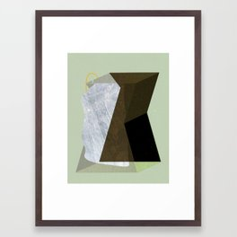 Collision Framed Art Print