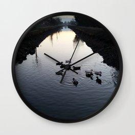 Ducks Wall Clock