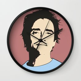 Richard Hammond Pop Art Wall Clock