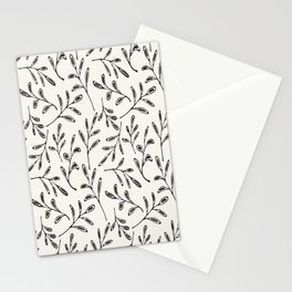 Pattern Play: Leaves Stationery Cards
