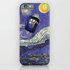 VAN GOGH STARRY NIGHT TARDIS iPhone 6s Slim Case