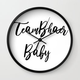 TeamBhaer Baby Wall Clock