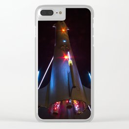 Under the Fremont Rocket Clear iPhone Case