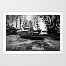Icebound Art Print