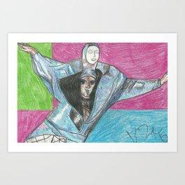 Ornacia Falls Art Print