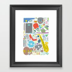 Lost Something? Framed Art Print