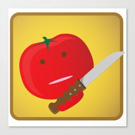 Tomato | Upgrade Canvas Print