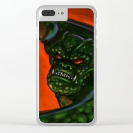 Armstrong's Nemesis Clear iPhone Case