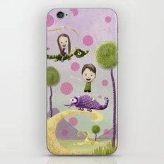 Pink Bubbles iPhone & iPod Skin