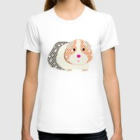guinea pig T-shirts featuring Guinea Pig Patterned Guinea Pig by Upcyclepatch