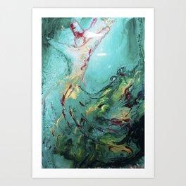 Dance of Love Art Print
