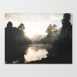 Waikato River Canvas Print