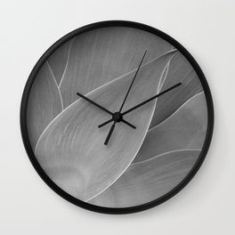 Agave Succulent Photographic Print Wall Clock