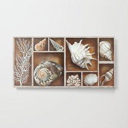 Ted Broome - Memories of the Ocean Metal Print