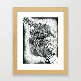 Flem Framed Art Print