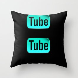 Modern Day Shakespeare Throw Pillow