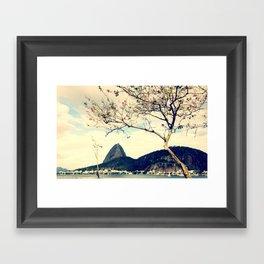 Pão de Açucar - Rio de janeiro Framed Art Print