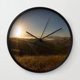 Sunrise Sunshine Wall Clock