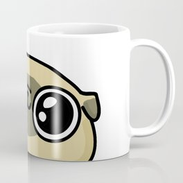 Mochi the pug loves you Coffee Mug