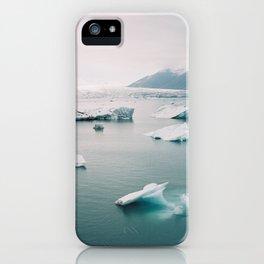 Glaciers iPhone Case