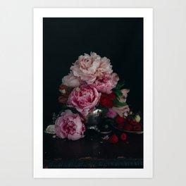 Peonies by Brenna Parkins Art Print