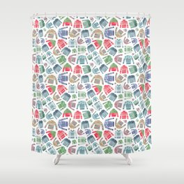 Christmas Jumpers! Shower Curtain