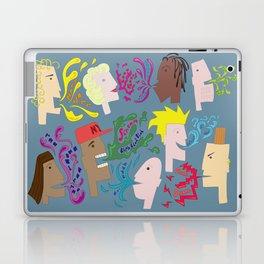 Everyones Talking Laptop & iPad Skin